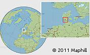 Savanna Style Location Map of Logumkloster