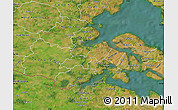 Satellite Map of Lundtoft