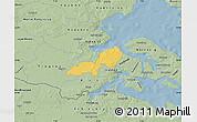 Savanna Style Map of Lundtoft