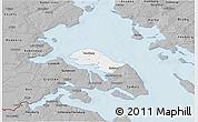Gray 3D Map of Nordborg