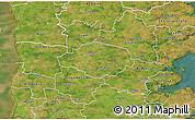 Satellite 3D Map of Norre Rangstrup