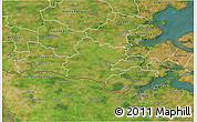 Satellite 3D Map of Tinglev