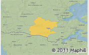 Savanna Style 3D Map of Tinglev