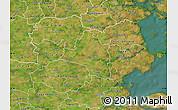 Satellite Map of Vojens