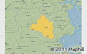 Savanna Style Map of Vojens