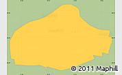 Savanna Style Simple Map of Frederiksberg