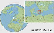 Savanna Style Location Map of Hvidovre