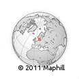 Outline Map of Kobenhavn