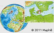 Physical Location Map of Staden Kobenhavn