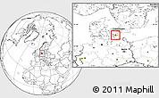 Blank Location Map of Langebak