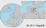 Gray Location Map of Storstrom