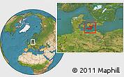 Satellite Location Map of Storstrom