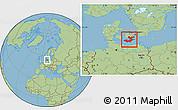 Savanna Style Location Map of Storstrom