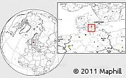Blank Location Map of Nakskov
