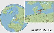 Savanna Style Location Map of Nakskov