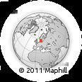 Outline Map of Nastved