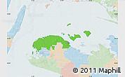 Political Map of Ravnsborg, lighten