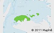 Political Map of Ravnsborg, single color outside