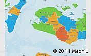 Political Map of Rudbjerg