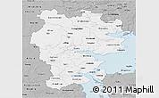 Gray 3D Map of Vejle