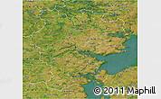 Satellite 3D Map of Vejle