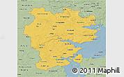Savanna Style 3D Map of Vejle
