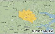 Savanna Style 3D Map of Egtved