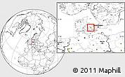 Blank Location Map of Gorlev