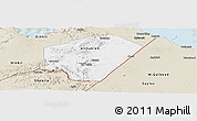 Classic Style Panoramic Map of Ali Sabieh
