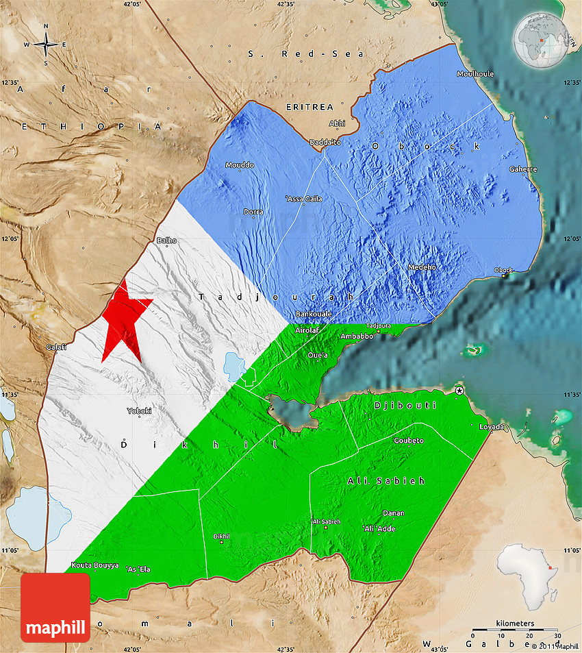 Flag Map of Djibouti, satellite outside Satellite Map Of Djibouti on topo map of djibouti, political map of djibouti, sports of djibouti, detailed map of djibouti, terrain map of djibouti, outline map of djibouti, blank map of djibouti, world map of djibouti, street map of djibouti, physical map of djibouti, topographical map of djibouti,