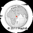 Outline Map of Tadjourah