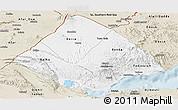 Classic Style Panoramic Map of Tadjourah