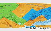 Political Panoramic Map of Tadjourah