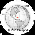 Outline Map of Azua