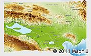 Physical 3D Map of Baoruco