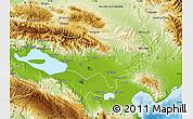 Physical Map of Baoruco