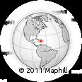 Outline Map of Baoruco