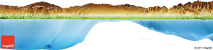 Physical Horizon Map of Elias Pina