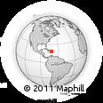 Outline Map of Elias Pina