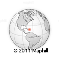 Outline Map of Espaillat