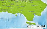 Physical 3D Map of La Romana