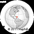 Outline Map of La Romana