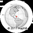 Outline Map of Pedernales