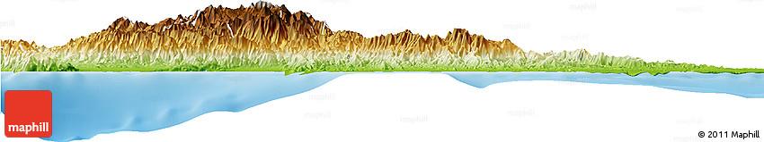 Physical Horizon Map of Peravia