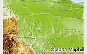 Physical Map of Sanchez Ramirez