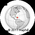 Outline Map of Sanchez Ramirez