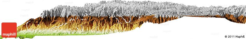 Physical Horizon Map of Cuenca