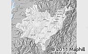 Gray Map of Azuay