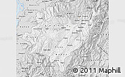 Silver Style Map of Azuay