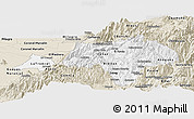 Classic Style Panoramic Map of Canar